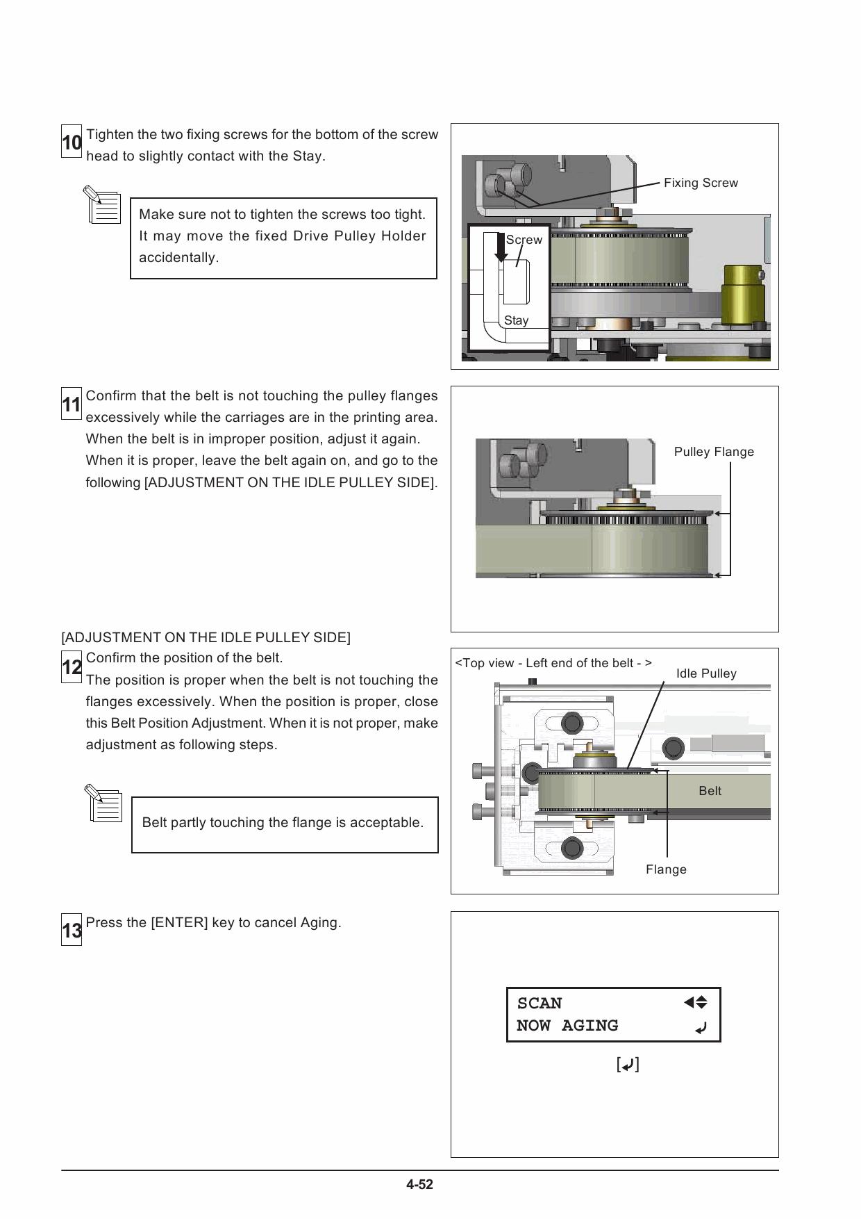 Roland soljet pro3 xj 740 640 540 service notes manual 6